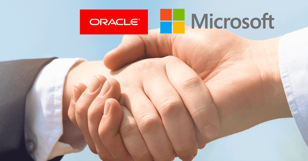 Microsoft-Oracle-Partnership