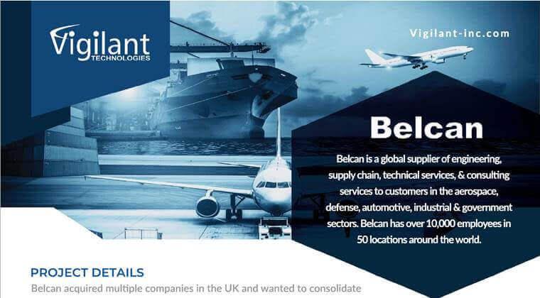 vigilant technologies Belcan