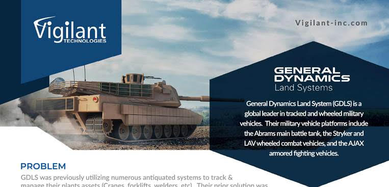 vigilant technologies General Dynamics
